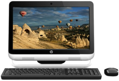 Buy HP Omni 120-2020IN / Intel 2nd Gen G620 Dual Core/ 2 GB / 1 TB / Win 7 Home Basic (White & Black): All In One Desktop