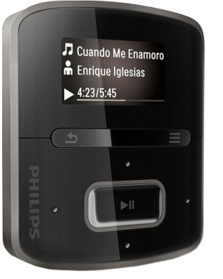 Buy Philips RaGa 4 GB MP3 Player: Home Audio & MP3 Players