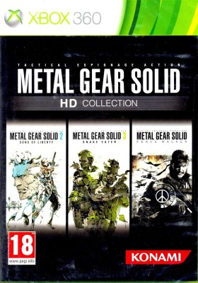 Buy Metal Gear Solid HD Collection: Av Media