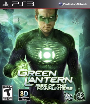 Buy Green Lantern : Rise Of The Manhunters: Av Media