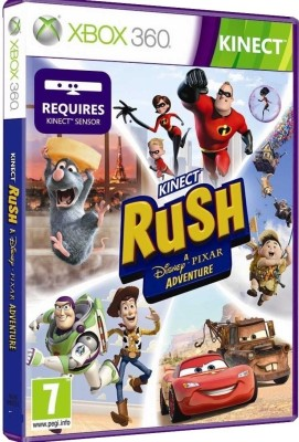 Buy Kinect Rush: A Disney Pixar Adventure (Kinect Required): Av Media