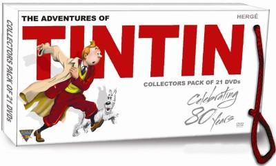 Buy The Adventures Of Tintin (21 DVD Pack): Av Media