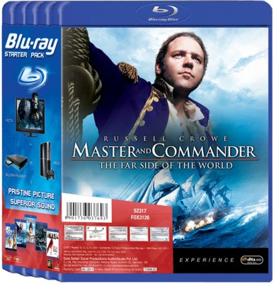 Buy Starter Pack 1 (Masters And Commanders, Home Alone 2, Avp 2, Ice Age 2 & Devil Wears Prada): Av Media