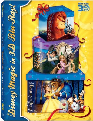 Buy 3D Bluray Pack 3 (The Lion King, Tangled, Beauty And The Beast) (3D Blu-ray): Av Media