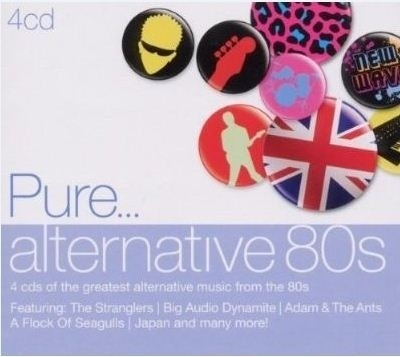 Buy Pure Alternative 80 S Various: Av Media