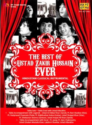 Buy The Best Of Ustad Zakir Hussain Ever(Instrumental): Av Media