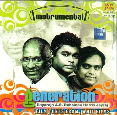 Buy Generation : Ilayaraja, A.R.RAHAMAN, Harris Jayraj: Av Media