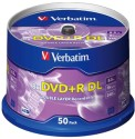 Verbatim DVD+R DL 8.5 GB 8X - 50PK Spindle - Pack of 50