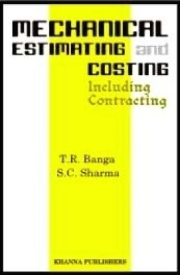 Buy Mechanical Estimating And Costing (English) 16th Edition: Book