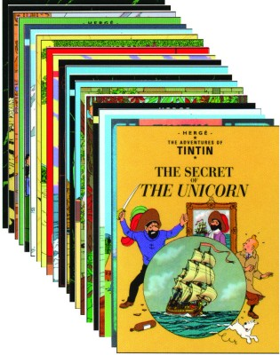 Buy The Tintin Collection (Set Of 22 Books): Book