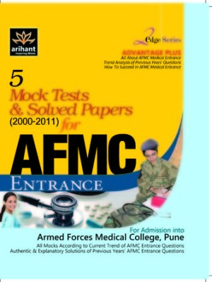 Buy 5 Mock Tests & Solved Papers for AFMC Enterance (English) 1st Edition: Book