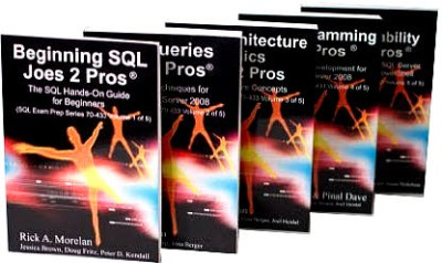Buy Beginning SQL Joes 2 Pros (Set Of 5 Books) by rick a. morelan|author;fritz doug|editor;brown jessica|editor; Dave Pinal|Author;-English-Blue Digital Media Pvt. Ltd.-Paperback by Pinal Dave Rick A.Morelan-English-SQLAuthority-Paperback: Book