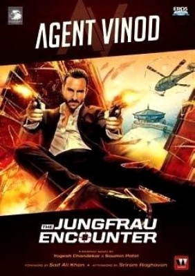 Buy Agent Vinod: The Jungfrau Encounter (English): Book