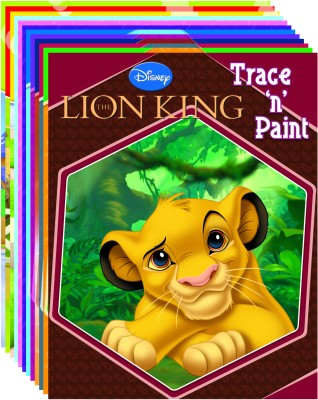 Buy Trace N Paint (Set Of 12 books) (English): Book