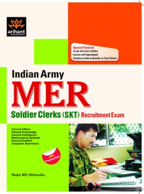 Indian Army MER Soldier Clerks SKT Recruitment Exam with Practice