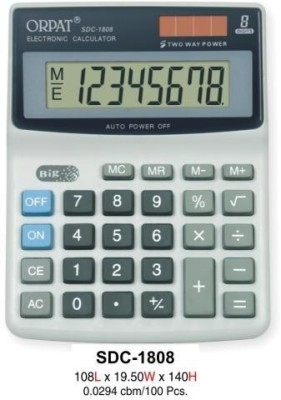 Buy Orpat SDC 1808 Basic: Calculator