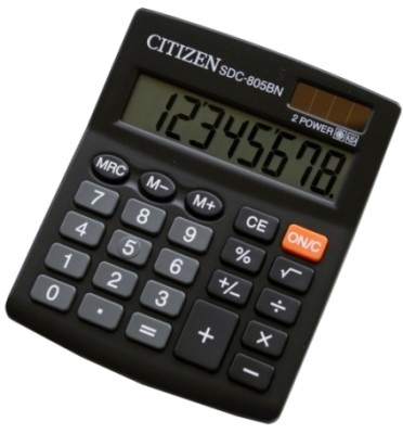 Buy Citizen SDC-805 BN Basic: Calculator
