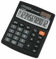 Citizen SDC-812 BN Basic Calculator: Calculator
