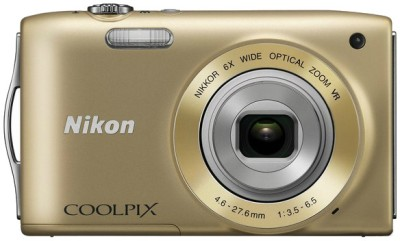 Buy Nikon Coolpix S3300 Point & Shoot: Camera