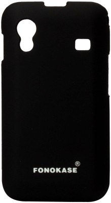 Buy Fonokase Back Cover for Samsung Galaxy Ace (Black): Cases Covers