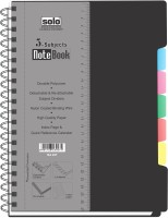Solo Management 5 Subjects (Set of 2) A4 Spiral Bound: Diary Notebook
