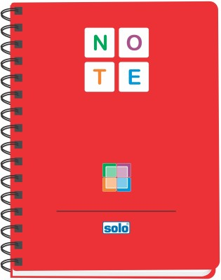 Buy Solo Management (Set of 4) B5 Notebook Spiral Bound: Diary Notebook