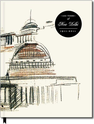 Buy Designwallas Delhi Rashtrapati Bhavan A6 Notebook Hard Bound: Diary Notebook