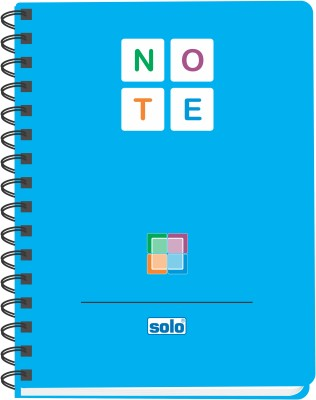 Buy Solo Management (Pack of 6) A5 Spiral Bound: Diary Notebook