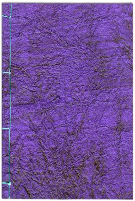 Buy Designwallas Purple Hand Stitched A5 Notebook Hard Bound: Diary Notebook