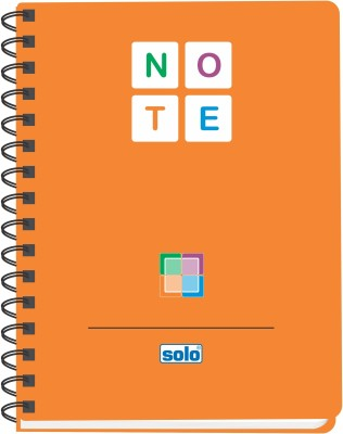 Buy Solo Management (Pack of 6) A5 Notebook Spiral Binding: Diary Notebook