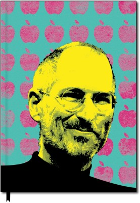 Buy Designwallas Steve Jobs Icon Notebook Hard Bound: Diary Notebook