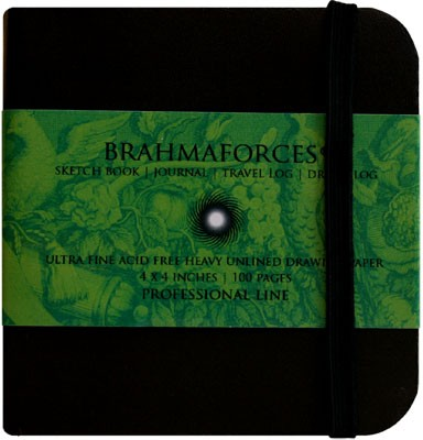 Buy Brahma Books Professional Line Notebook Hand Sewn: Diary Notebook