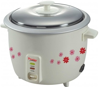 Prestige PRWO 1.8-2 1.8 L Electric Rice Cooker with Steaming Feature