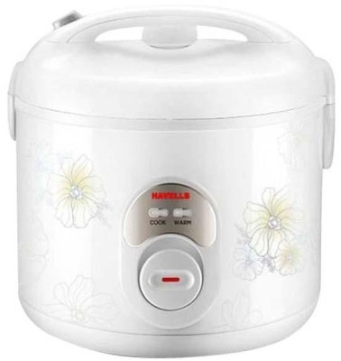 Havells MAX COOK 1.8 CL 1.8 L Electric Rice Cooker with Steaming Feature