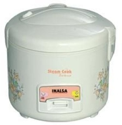 Inalsa Steam cook Dx 1.8 L Electric Rice Cooker with Steaming Feature