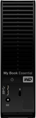 WD My Book Essential 3.5 inch 3 TB External Hard Disk (Black)