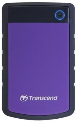 Buy Transcend StoreJet 25H2P 2.5 inch 500 GB External Hard Disk: External Hard Drive