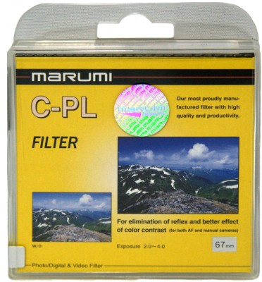 Buy Marumi 67 mm Circular Polarizer Polarizing Filter (CPL): Filter