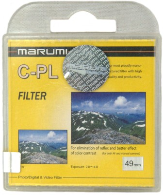 Buy Marumi 49 mm Circular Polarizer Polarizing Filter (CPL): Filter