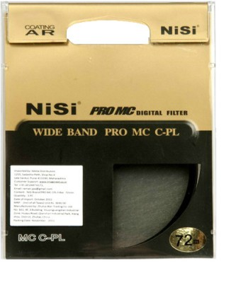 Buy Nisi 72 mm Circular Polarizer Circular Polarizer: Filter