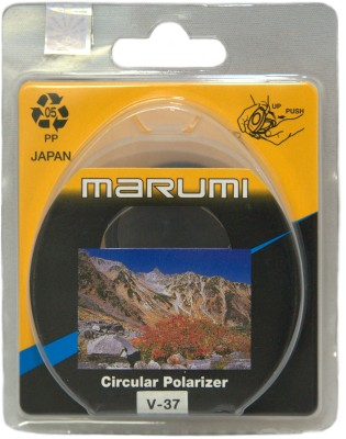 Buy Marumi 37 mm Circular Polarizer Polarizing Filter (CPL): Filter