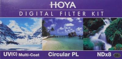 Buy Hoya Digital Filter kit 58 mm Polarizing Filter (CPL), UV Filter, ND Filter: Filter