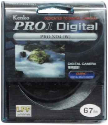 Kenko Pro 1D ND4 W 67 mm Filter available at Flipkart for Rs.4099