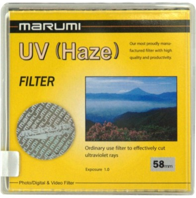 Buy Marumi 58 mm Ultra Violet Haze UV Filter: Filter