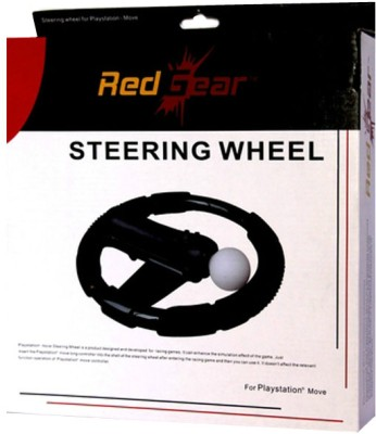 Buy Red Gear Steering Wheel for PS3 Move: Gaming Accessory Kit