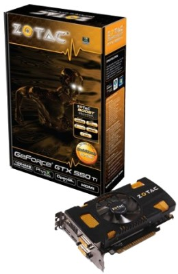 Buy ZOTAC NVIDIA Geforce GTX 550 Ti 1 GB GDDR5 Graphics Card: Graphics Card
