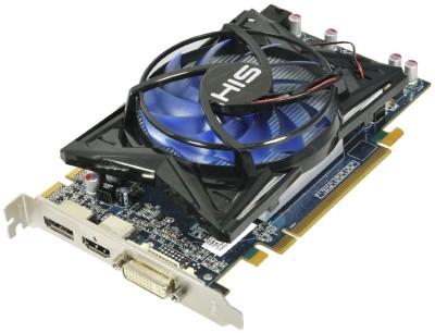 Buy HIS AMD/ATI Radeon HD 6750 GPU 1 GB GDDR5 Graphics Card: Graphics Card