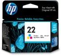 HP 22 Tricolor Ink Cartridge: Inks & Toners