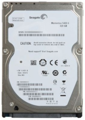 Buy Seagate Momentus 320 GB Laptop Internal Hard Drive (ST9320325AS): Internal Hard Drive
