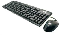 HP COMBO USB 2.0 Keyboard And Mouse Combo (Black)